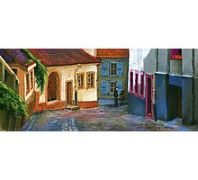 Germany Baden-Baden Old Street Photographic Print