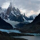 Cerro Torre at sunset by Ivan Ilarionov