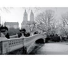 Bow Bridge, Central Park, New York City Photographic Print
