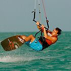 Kiteboarding by Jeff Blanchard