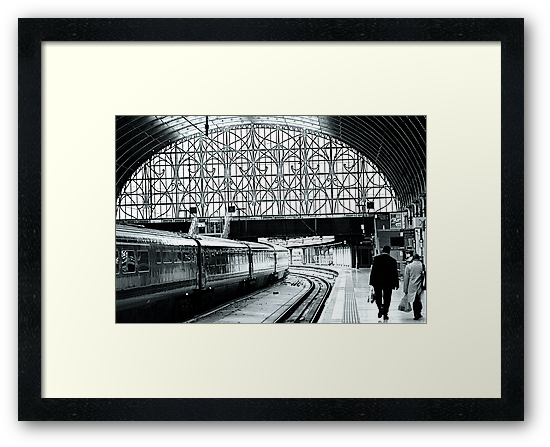 Paddington Station, London,England by Jeff Blanchard