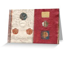 Book of Threads: Pages 5b/6a  Greeting Card