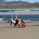Beach Yoga by Stephanie  Wiese