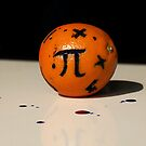 Maths Orange by Lozzle