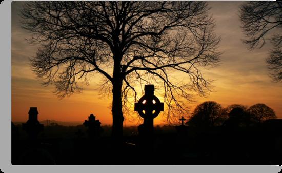 celtic sunset by Finbarr Reilly