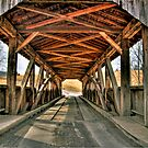 Luthers Mills Covered Bridge by BigD
