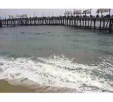 Overcast Day at Redondo Beach, CA Photographic Print