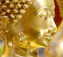 Golden Buddha by Dentanarts