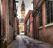 George and Crown Yard Wakefield. by fasteddie42