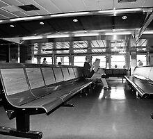 Statton Island Ferry Passenger by Rob Beckett