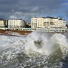 Storm hits brighton seafront by hugbunny