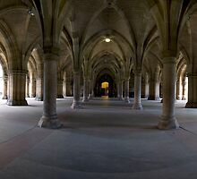 Glasgow University Cloisters. by Empato Photography