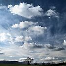 Painting the sky with clouds by clickinhistory
