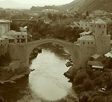 Stari Most by joeyclapper