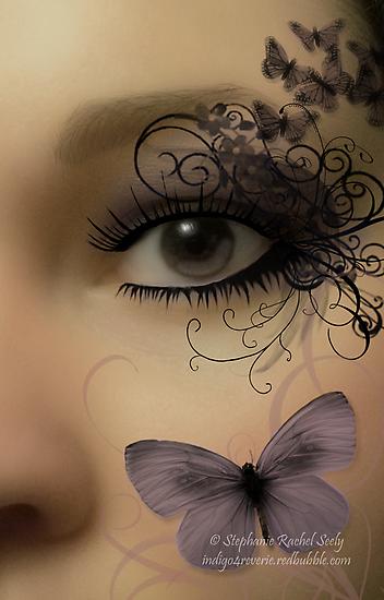 Butterfleye by Stephanie Rachel Seely