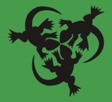 333 lizards t-shirt by rain-dogs