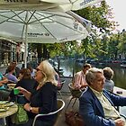 Amsterdam Coffee Break by Lea Valley Photographic