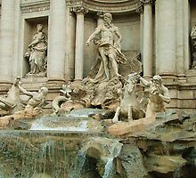 Trevi fountain by Martina Fagan