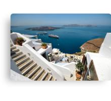 Views from Santorini Canvas Print