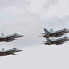 RAAF's F/A-18 Hornets by Frank Yuwono