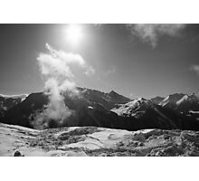An Afternoon On Penken #13 (In The Clouds) Photographic Print