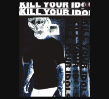 kill your idols poster tee by jonnyriot