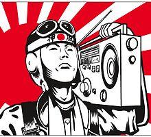 Kamikaze Radio by krayola