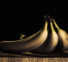 Three Bananas by Myron Watamaniuk