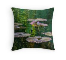 Tranquility Pond Throw Pillow