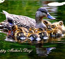 Mother's Love (Card) by Adrienne Berner