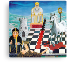 Chessmates  Canvas Print