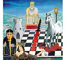 Chessmates  Photographic Print