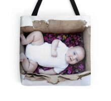 Babe in a box / Smiley Reilly Tote Bag