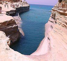 Big hole in Corfu Island by loiteke