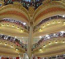 Les Galeries Lafayette, Paris by Retrophoto