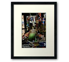 Green Beer Framed Print