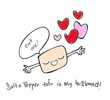 Salt & Pepper Tofu Is My Husband by sallystar