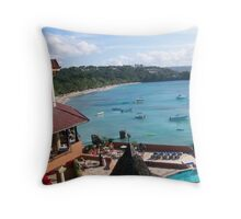 Glory In The Bay Throw Pillow