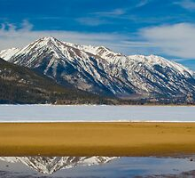 Mt. Rinker Above Twin Lakes by Paul Gana