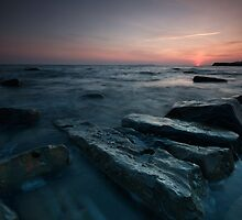 Rocks at Kimmeridge, 2009 by stephen foote