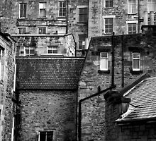 Edinburgh Old Quarters by Andre Pozdnyakov
