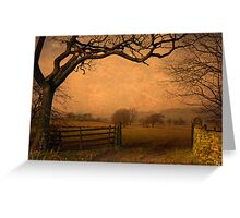 Wycoller Country Park Greeting Card