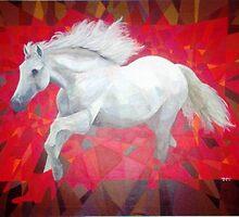 Prismatic Infernal Stallion by Joseph Barbara