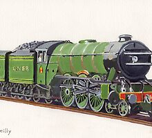 LNER Class A3 4472 Flying Scotsman  by Peta-Reilly