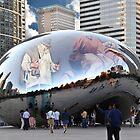 Chicago Bean of Art by Richard Barker