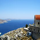 Greek Monastary, Kalymnos, Greece by Alison Simpson