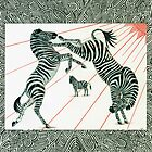 Fighting Zebras by Catherine  Howell