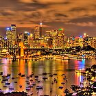 &quot;Lights Camera Action&quot; - Sydney Harbour - Moods Of A City - The HDR Experience by Philip Johnson