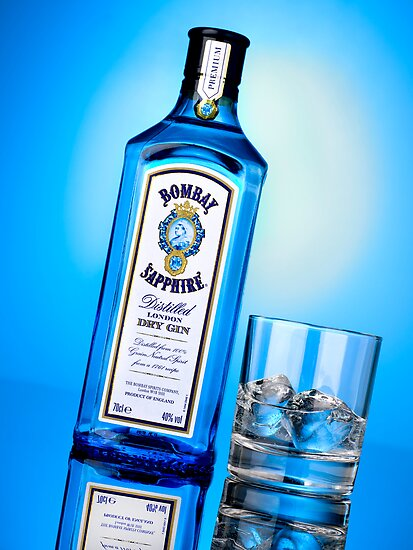 Advertising - Bombay Sapphire by Samantha Mooney