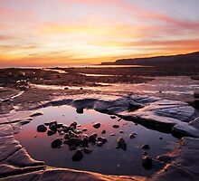 Kimmeridge Bay - Rockpool by alansmith
